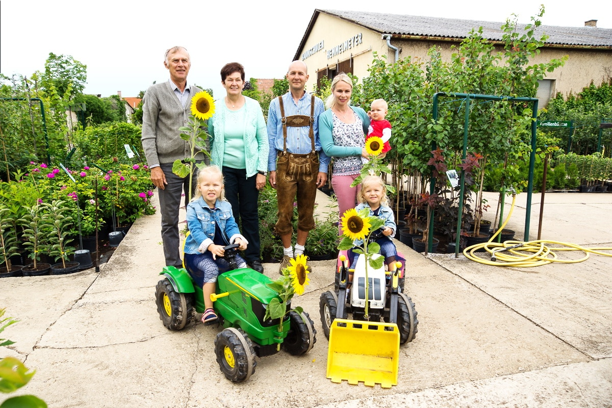 Drei Generationen Baumschule Hemmelmeyer
